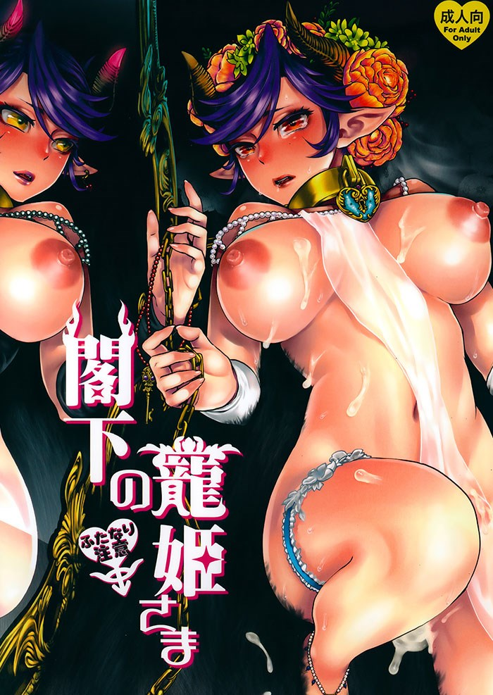 【オリジナル】ふたなり角王女、膣内を悪魔の極太ち○ぽに犯され肉奴姫に調教される・・・【無料同人誌】